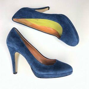 Franco Sarto | Blue Suede Shoes Napoli